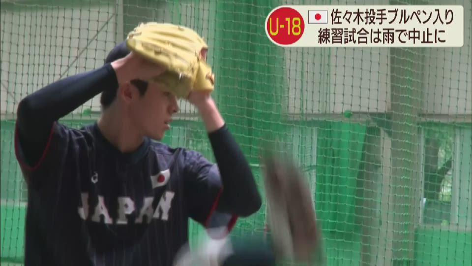 野球日本代表侍ジャパン国内合宿