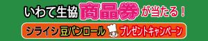 シライシ豆パンロールプレゼントCP