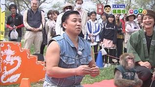 「スギちゃん北上展勝地でハジケル!」