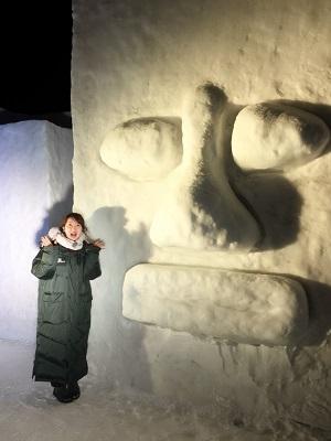 雪がたくさん!いわて雪まつり