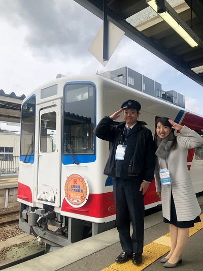 三陸鉄道リアス線全線開通!